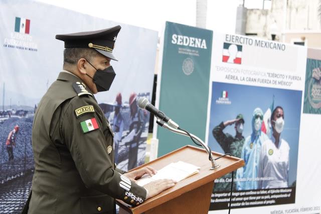 """Inauguran la exposición fotográfica """"Ejército y Fuerza Aérea, La Gran Fuerza de México"""""""