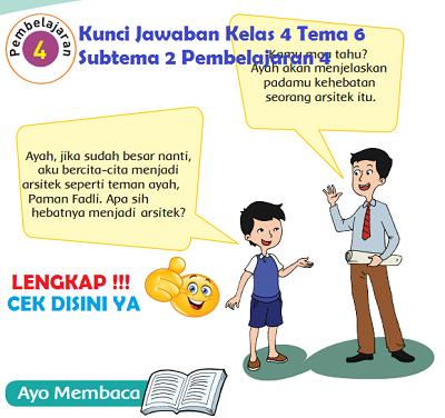 Kunci Jawaban Kelas 4 Tema 6 Subtema 2 Pembelajaran 4 www.simplenews.me