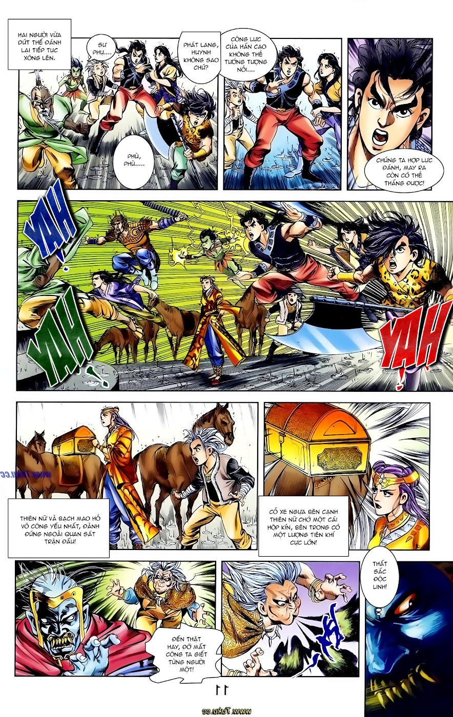 Cơ Phát Khai Chu Bản chapter 109 trang 11