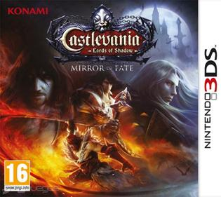 Rom Castlevania Lords of Shadow Mirror of Fate 3DS