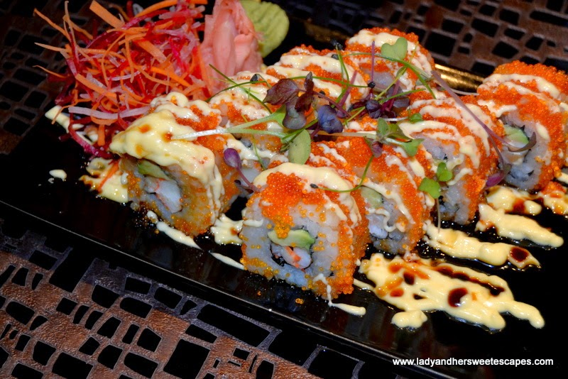 California Rolls at Dragon's Place Ajman
