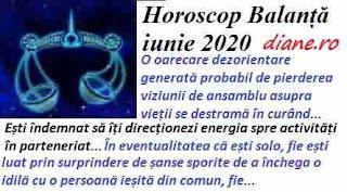 Horoscop iunie 2020 Balanță