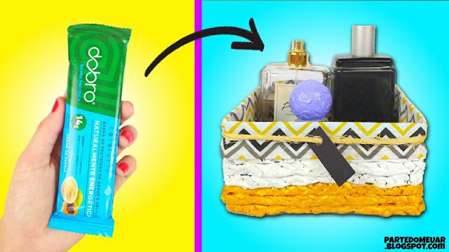 como reciclar embalagens