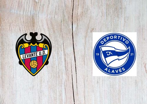 Levante vs Deportivo Alavés -Highlights 08 November 2020