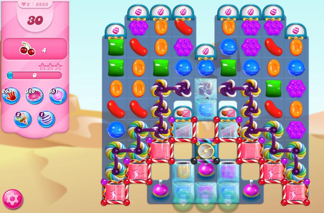 Candy Crush Saga level 8223