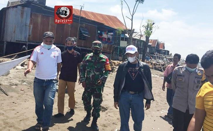 Bhabinkamtibmas Desa Boddia Polsek Galsel, Mengawal Kunjungan Anggota DPRD Provinsi Sulsel