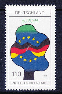 Germany 1998 Europa and German Reunification Day