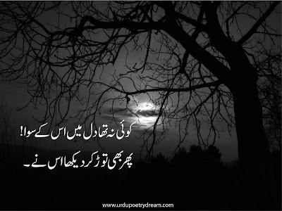 sad-poetries in urdu