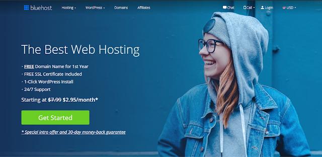 Bluehost  best hosting provider