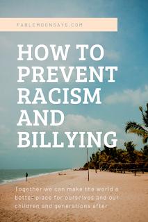 Como prevenir o racismo e o bullying f F 6