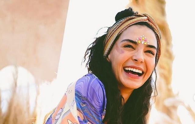 ايبرو شاهين بطلة زهرة الثالوث تتحدث عن تجربتها الاولى في التمثيل