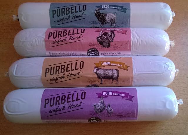 4 verschiedene Sorten PurBello.