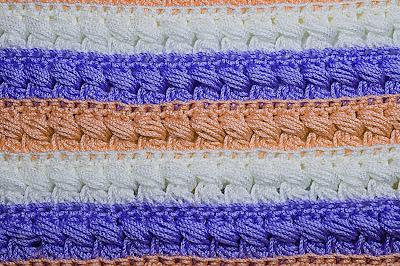 2 - CROCHET Imagen Puntada especial para mantas a crochet y ganchillo muy fácil y sencilla. MAJOVEL CROCHET