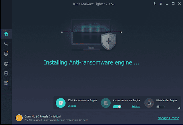 Screenshot IObit Malware Fighter Pro 7.3.0.5799 Full Version