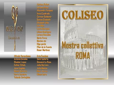 "POSTER MOSTRA ""COLISEO"""