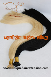 keratin pre bonded hair extensions