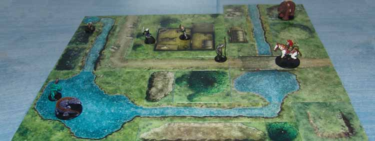 Dungeon Tiles Master Set The Wilderness Master Set The