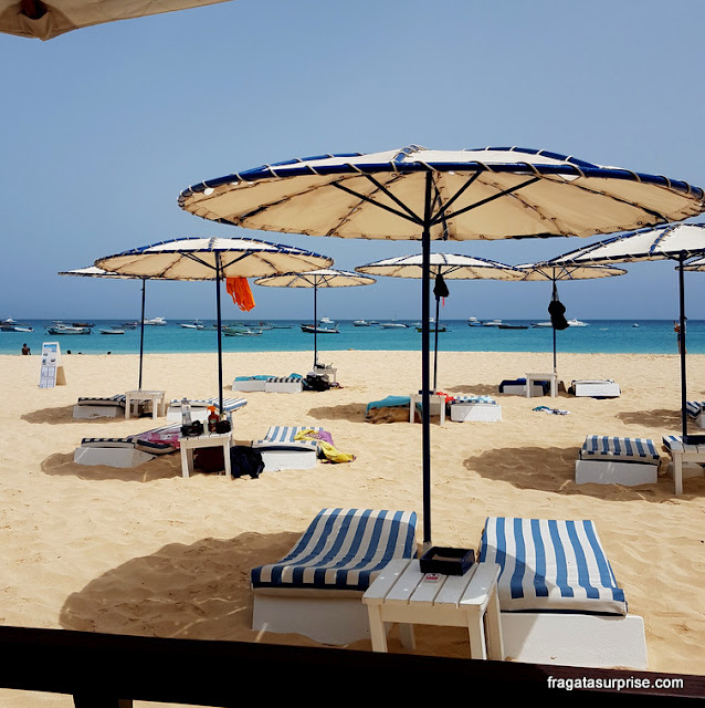 Beach Club do Hotel Morabeza, Ilha do Sal, Cabo Verde