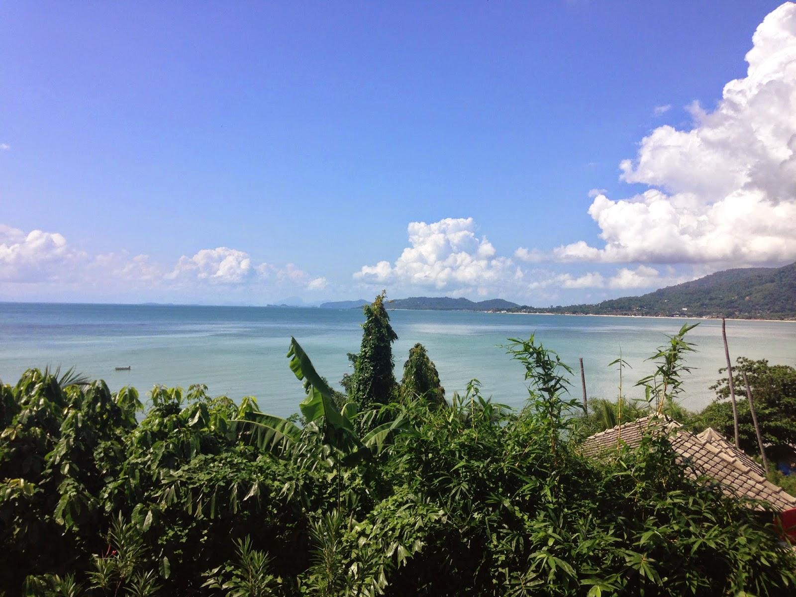 Vista do quarto do Cinnamon Villas Beach Resort