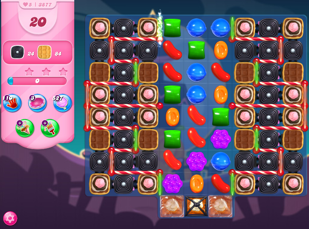 Candy Crush Saga level 3877
