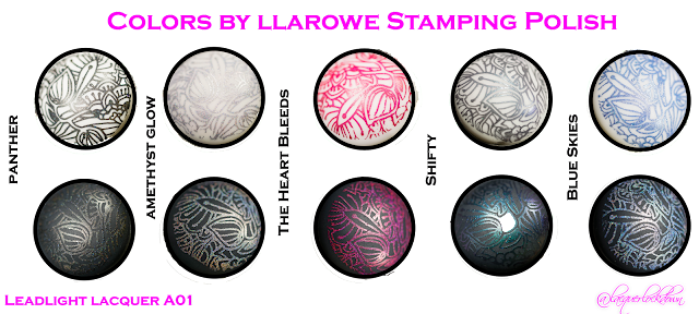 Lacquer Lockdown - CbL stamping polishes, colors by llarowe stamping polish, stamping polish review, stamping polish swatches, nail art stamping, stamping, nail art stamping blog, nails, nail art, holographic stamping polish, duochrome stamping polish, indie stamping polish, stamping polish, review, indie nail polish