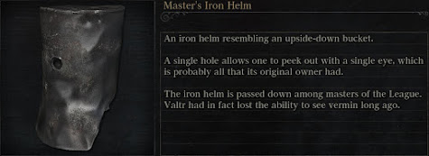 Masters Iron Helm