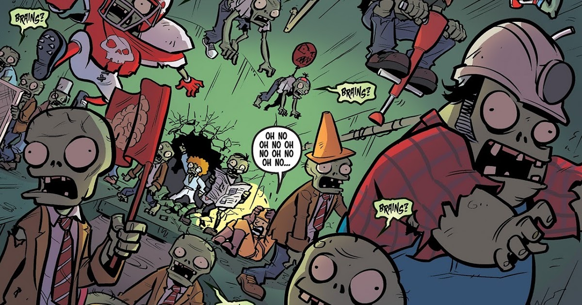 Comically Plants Vs Zombies Lawnmageddon By Paul Tobin And Ron