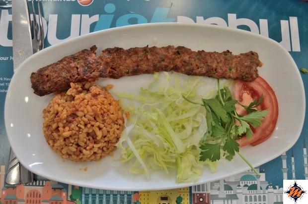 Touristanbul, pranzo al Tamara Restaurant