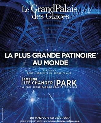Patinoire-Paris-Grand palais