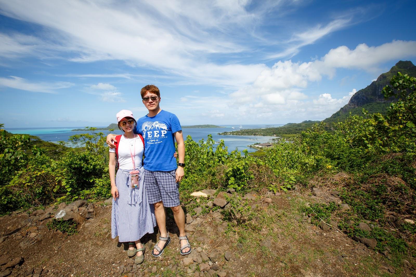 Bora Bora 本島觀景台