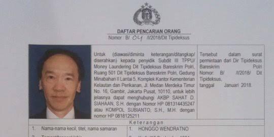 Kejagung Sita Harta Buronan Honggo Wendratno Senilai Rp 97 Miliar