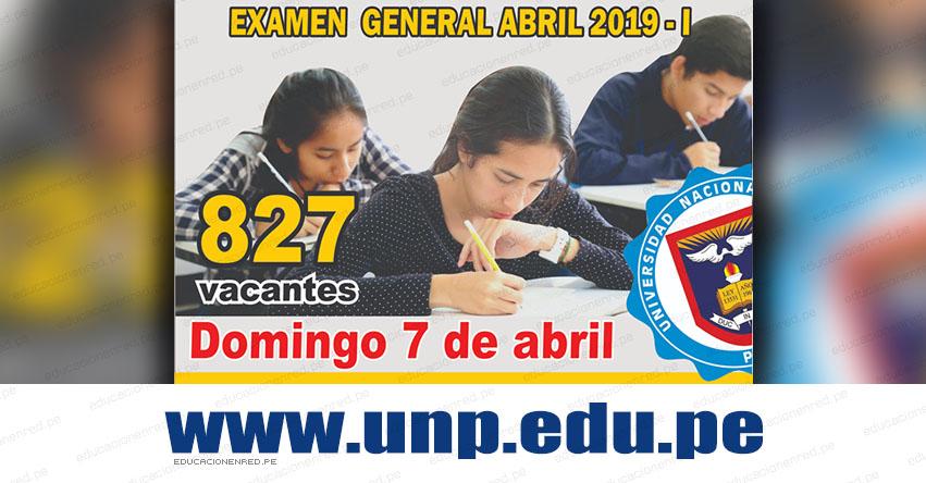 Resultados UNP Piura 2019-1 (Domingo 7 Abril) Lista de Ingresantes - Examen Admisión General Ordinario - Universidad Nacional de Piura - www.unp.edu.pe