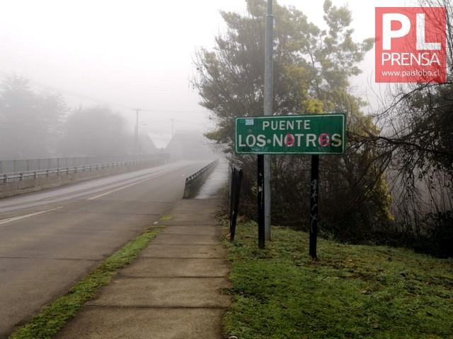Osorno: Hombre es encontrado sin vida bajo el puente Los Notros