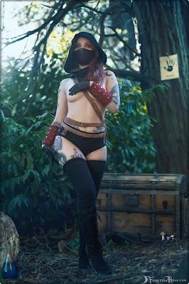 Genevieve (Forbidden Realm) - Dark Brotherhood erotic cosplay set