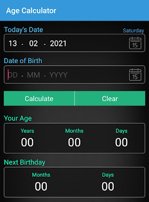 Download Latest age calculator