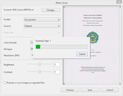 proses scanning dokumen di wfs