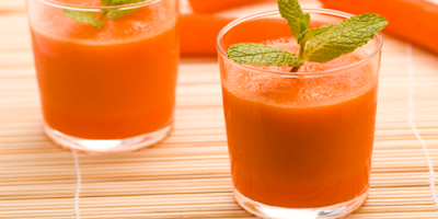 Jugo de Tomate Pepino y Mandarina receta