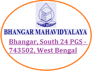 Bhangar Mahavidyalaya, Bhangar, South 24 PGS - 743502, West Bengal