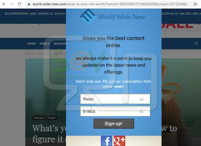 redirecciones a World-wide-new.com