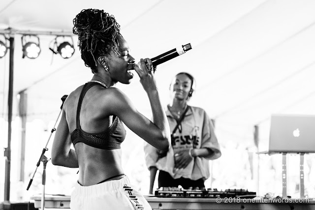 Haviah Mighty at Riverfest Elora 2018 at Bissell Park on August 19, 2018 Photo by John Ordean at One In Ten Words oneintenwords.com toronto indie alternative live music blog concert photography pictures photos