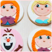 Galletas Frozen Elsa