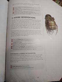 Intervención Heroica 9a edición 40k