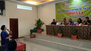 Bahas Bea Hak Atas Tanah, Para PPAT Berkumpul di Samosir