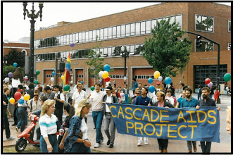 Portland, Oregon gay and lesbian pride march in 1987