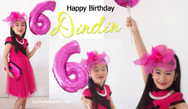 Shawna 6th birthday pictorial - Bacolod Cupcake Cafe - Bacolod restaurants - pink - Bacolod mommy blogger - birthday girl - Black Pink - two front teeth