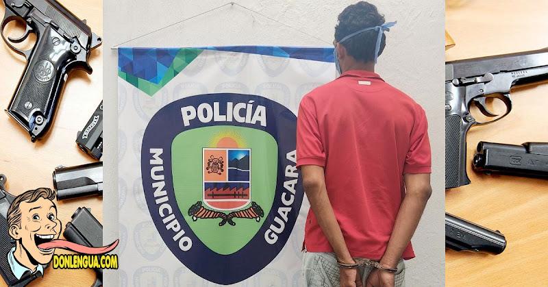 Capturaron a El Cabezón y ya no va a robar más en Guacara