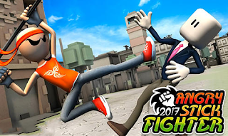 Download Angry Stick Fighter 2017 v1.1 Apk