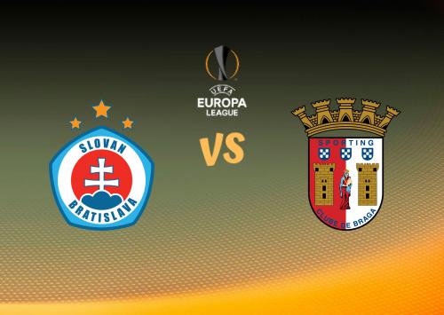 Slovan Bratislava vs Sporting Braga  Resumen