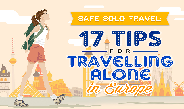 17 Tips for Travelling Alone in Europe #infographic