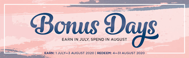 Bonus Days in July August